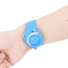 Children Baby reusable silicone cartoon outdoor mosquito killer repellent bracelet anti mosquito repellent bracelet(China)
