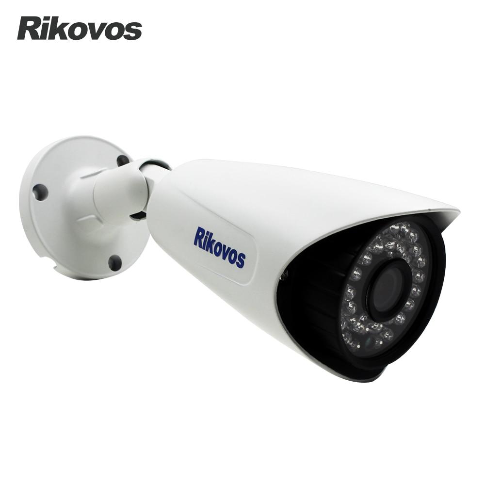 48V POE HD 1080P IP Camera Outdoor Waterproof Surveillance Camera 36pcs IR LED 30M IR Night Vision P2P Onvif Security Camera<br>