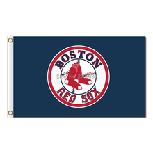 Boston Red Sox Flag Fan Baseball Team Custom Banners Major League Baseball Flags Banner 3x5 Ft World Champions