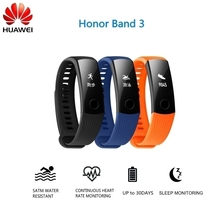 Original Huawei Smart Honor Band 3 with Heart Rate Monitoring for Swimming Long Time Battery