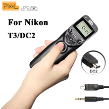 Buy Nikon EOS D7100 D7000 D7200 D3100 D3200 D5000 D5100 D5200 D5300 D600 D750 Pixel T3 DC2 Timer Remote Control Shutter Release for $14.91 in AliExpress store