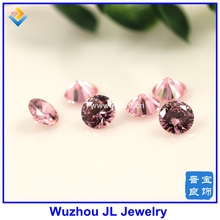 (500pieces/lot)Wholesale 3mm or 4mm Free shipping 5A cubic zircon Gems stone machine cut  in stock for jewelry