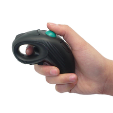 Wireless and wired 2.4G Air Mouse Handheld Trackball Mouse With Laser Pointer For PPT Presentation(China)