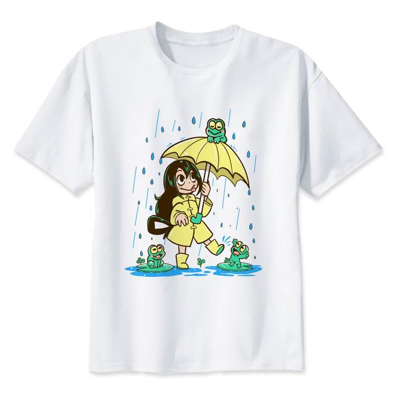New Arrival My Hero Academia T Shirts Man Short Sleeve Clothing Boku No Hero Academia Funny Cartoon Print T-shirt For Man/woman 14