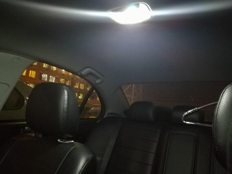 6x C5W COB Glass Car Led Filament Bulbs 41mm 39mm 36mm 31mm Car Interior Festoon Dome Reading Light Source Warm White Blue Lamp (14)