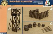 Out of print product! ITALERI 1/32 BATTLEFIELD ACCESSORIES MODEL KIT 6870