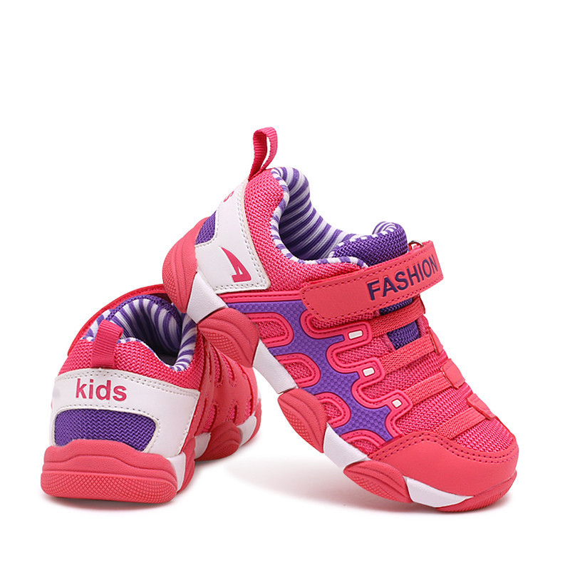 2018 spring Kids Shoes Brand Sneakers colorful fashion casual children shoes for boys and girls rubber running sports shoes<br>