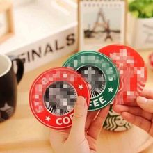 1PCS Three colors Silicone Dining Table Placemats Clastic Coasters Anti-skid Ceramic Mug Coaster Mermaid Coffee Coasters Cup(China)
