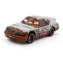 "Disney NO.101 ""Tach O Mint""  Metal Toy Alloy Racing Car Pixar Cars Movie Macqueen Racing Alloy Car Model Children Toy 1:55"
