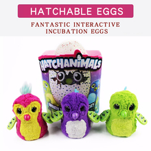 hatching egg Electronic Pets Kids Intelligent Toys Birds hatchimal Egg Interactive Talking Toy birthday gift kid not original(China)