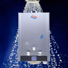 (Germany Shipping )  8L Natural Gas Instant Tankless Household Gas Shower Hot Water Heater Boiler Stainless ISO CE certificated