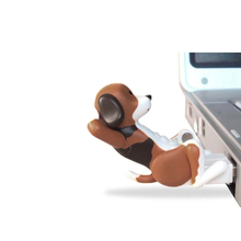 Portable 8G/16G/32G Humping Cute Spot Dogs Toy USB Flash Drive Relieve Pressure For Office Worker Gifts XXM8(China)
