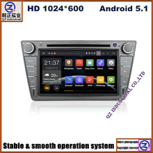 2 din quad core HD 1024*600 android 5.1 car dvd radio player for Great wall voleex C30 with GPS/free map 3G WIFI mirror link BT