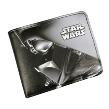 Star Wars Wallets Leather Purse Cartoon Anime Star War Printed Card Holder Bags Dollar Price Folder Short Wallet(China)
