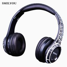 Buy SMILYOU Unique /Crack/ Wireless MS992 Bluetooth Headphone Headband Earphone Stereo Headset Sport Bluetooth Earpiece Headphones for $9.48 in AliExpress store