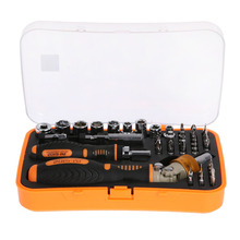 JAKEMY Quick Ratchet Screwdriver Set 43 in1 Screwdriver Bits Household Screw Driver Parafusadeira Combination Hand Tools