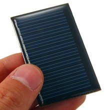 5V 0.22W 45mAh Polycrystalline Silicon Epoxy Solar Panels DIY Module Mini Solar Cells Battery Batteries Universal Phones Charger