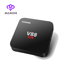 MEMOBOX V88 Android 6.0 TV Box Rockchip RK3229 1GB 8GB Quad Core WIFI HDMI HEVC 4K*2K HD Smart Set-Top BOX 3D Media Player IPTV