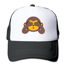 DUTRODU For Men Women Baseball-caps Meshback monkey Hat Caps hip hop hat vary colors high quality(China)