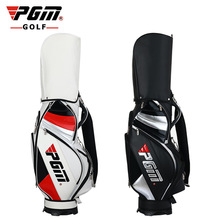 PGM Golf Sport Package Standard Bag Waterproof Professional Staff Bag Cover with Snake Line PU Men Fitted with Full Set of Clubs(China)