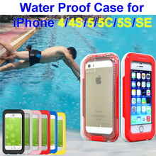 Water proof phone case swim dive bag sports waterproof box swimming taking photograph diving bag for iphone 5 5S