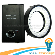 48 Bulb LED Ring Light Camera and Microscope Illumination 74mm Mounting Diameter(China)