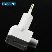 Original Euro Plug dock Head fork charger for iPad MacBook Air Pro suit for removable apple Wall Charge Power EU Adapter
