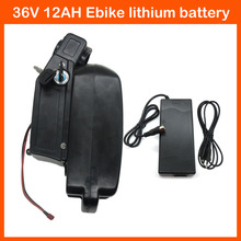 36V 500W Rechargeable Lithium ebike battery 36 V 12AH electric Bicycle Scooter bateria with 15A BMS 42V 2A charger free shipping
