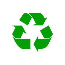 Recycle Logo Vinyl Decal Sticker Work or Home Renew and Reuse PICK SIZE & COLOR(China)