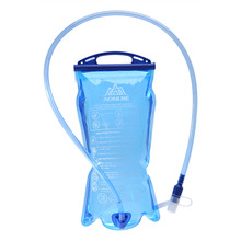 1.5L/2L/3L Foldable Water Bottle Pouch Outdoor Sport Camp Hike Clear Drink Water Bag Health Storage Large Capacity Tube Clip(China)