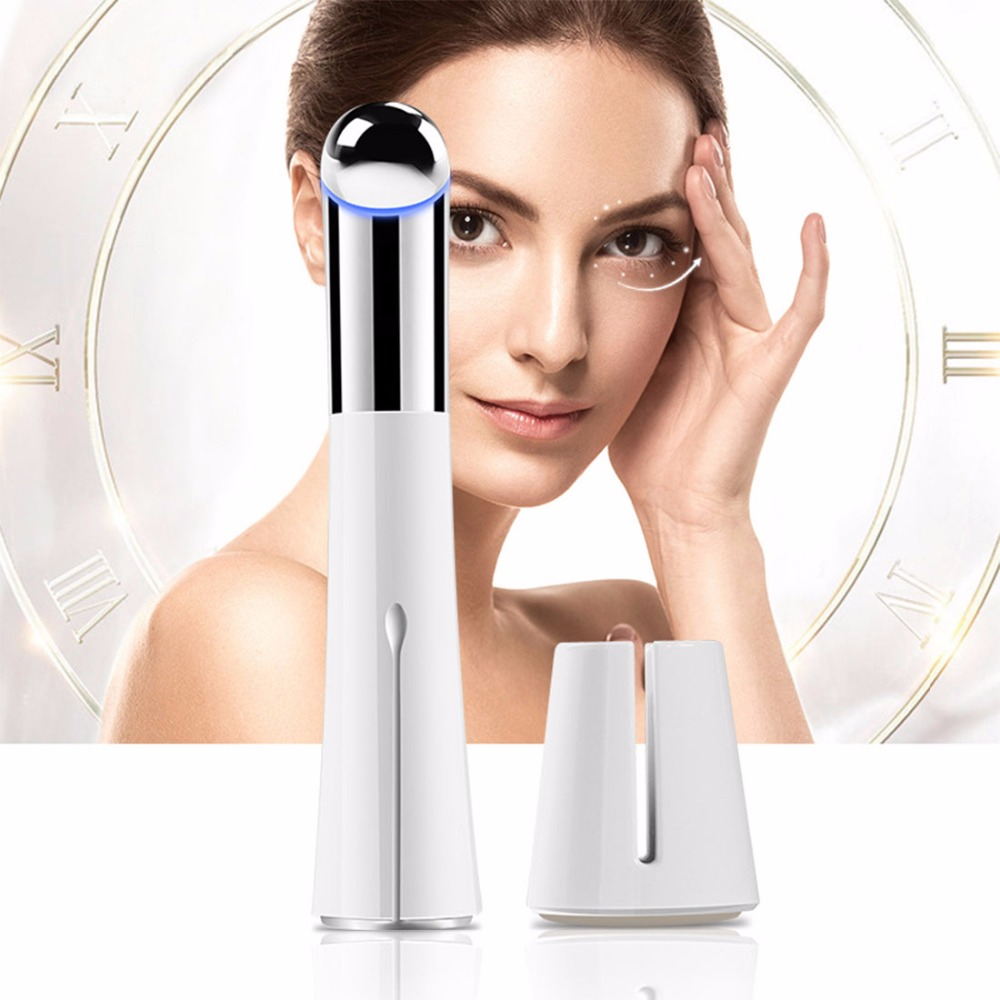 Face Eye Beauty Massager Pen Remove Wrinkles Dark Circles Negative ion Microseismic Massage Promote Skin Import Absorb Nutrient <br>