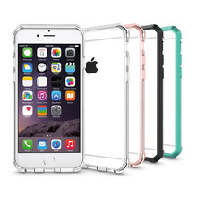 One Piece Hybrid Shockproof Case For iPhone 6 6s 7 Transparent cell phone Back Cover Cases For Apple iPhone 6 s 7 Plus / 8 plus(China)