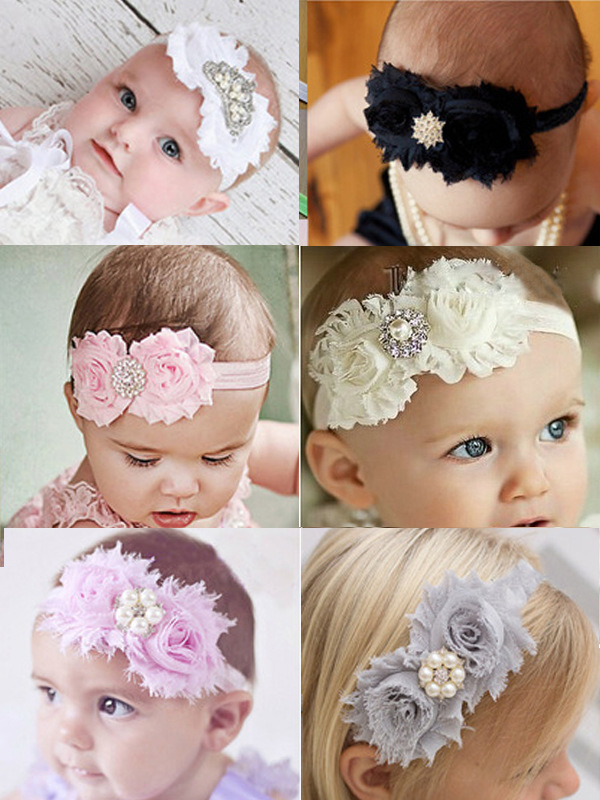 2016 Wholesale rhinestone flower baby girl headband girls hair band head band kids hair accessories<br><br>Aliexpress