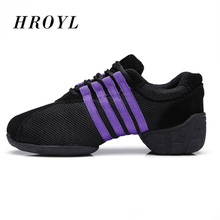 New arrival 4 Styles Dance Shoes Comfort Sneaker for Women Ballroom Women Sneakers Jazz Dance Shoes T01(China)