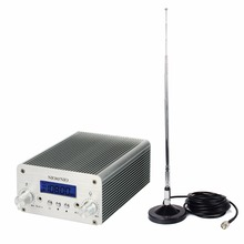 NIORFNIO 5W/15W PLL FM Transmitter Mini Radio Stereo Station Bluetooth Wireless Broadcast + Power + Antenna for FM Radio Y4338D