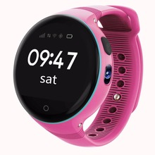 Kids Smart Watch Phone SIM GPS Watch Waterproof Wrist watch Remote Viewfinder Zero-distance Positioning SmartWatch Cell Phone(China)