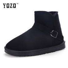Hot Sale Men Snow Boots With Fur Couple Lovers Winter Boots Men Fashion Winter Ankle Boots Outdoor Comfortable Men Shoes