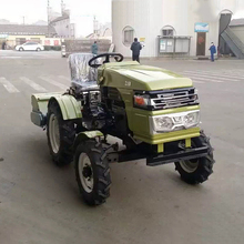 12HP Small Four-wheel Tractor Hot Sell Type Farmland Homework Machinery Plough Machine(China)