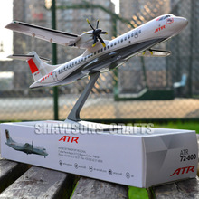 PLANE MODEL SCALE 1/100 COLLECTOR AIRCRAFT ATR 72-600 AIRLINER REPLICA