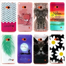 For Microsoft Lumia 640 Fashion Cartoon Bear Owl Soft TPU Silicone Case Soft Cover For Nokia Lumia 640 Phone Protective Bags
