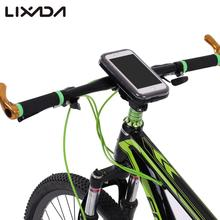 "Lixada Rainproof Bicycle Bag MTB Road Bike Handlebar Mount Holder Case Mobile Phone Case for 5.5"" Cell Phone Cycling Accessories(China)"