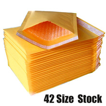 10Pcs/Lot DIY Multifunction Bubble Mailers Padded  Envelopes Bags Kraft Bubble Mailing Envelope Bags