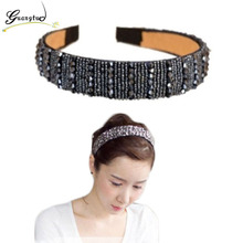 Fashion Shining Crystal Beads Headband Hairbands Hair Band Hair Clasp Hot Selling  For Women Girl Headwear Hair Accessories