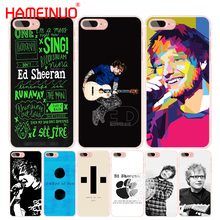 HAMEINUO ed sheeran shape of you cell phone Cover case for iphone 4 4s 5 5s SE 5c 6 6s 7 8 X plus(China)