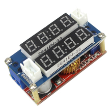 Smart Electronics TK1210 5A Constant Current/Voltage LED Driver Battery Charging Module Voltmeter Ammeter