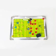 MAICCA Super Soccer Coaching Board Magnetic Football Coach board big Tactical plate tactics book set with Pen Teaching Clipboard(China)