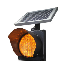 Safety Equipment 200mm Flashing Solar Powered Traffic Light(China)