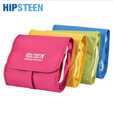 HIPSTEEN Long Term Travel Bag Detachable Wash Shower Bag Cosmetic Make Up Case(China)
