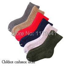 2017 Rushed Free Shipping Winter Children Thick Warm Socks Baby Cashmere Sock 2-12 Year Girl's Boy's Socks,kid 6pair=12pcs=lot