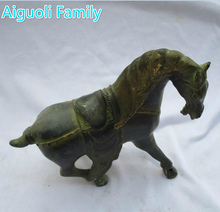 Rare Asian Antique Oriental Art Horse Chinese Old Bronze Carved Horse Sculpture /Horse statue 02